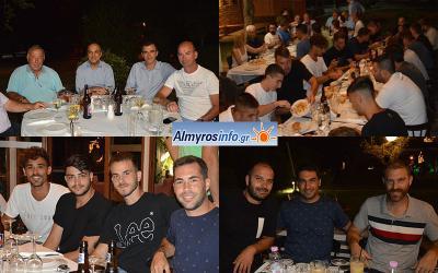 Τραπέζι στην ομάδα από την διοίκηση της Δήμητρας Ευξεινούπολης (φωτο)