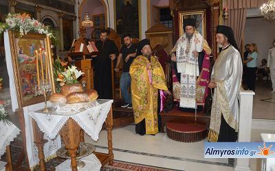 Ο εορτασμός της Μεταμορφώσεως του Κυρίου στην Αμαλιάπολη (βίντεο&φωτο)