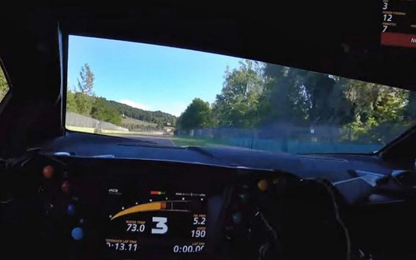 Η αγωνιστική Lambo SCV12 στην Imola (VIDEO)