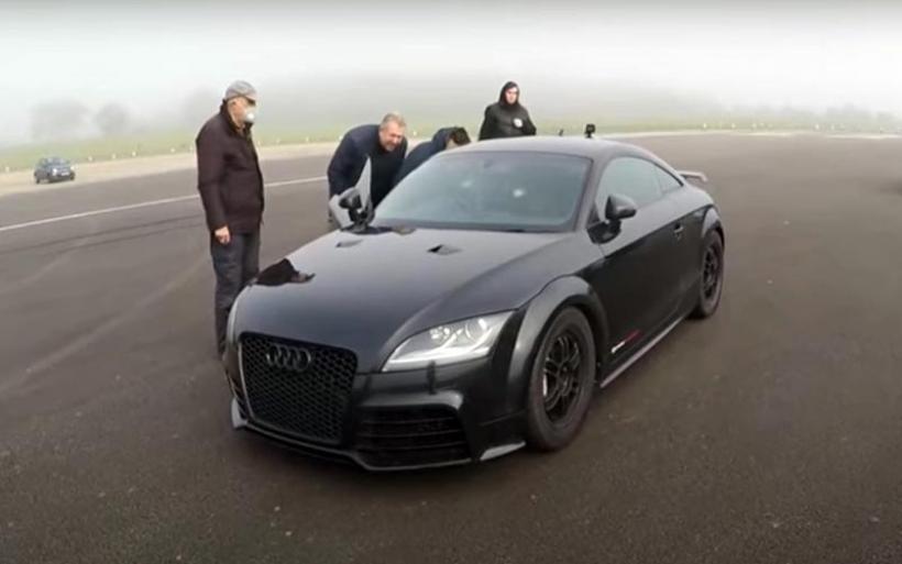Το γρηγορότερο Audi TT RS ανήκει σε έναν 78χρονο! (VIDEO)