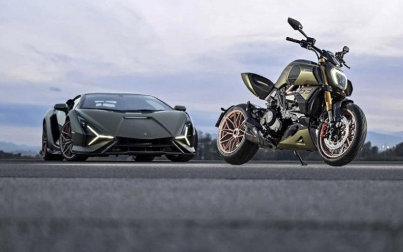 Ιταλικά κοσμήματα από Lamborghini και Ducati