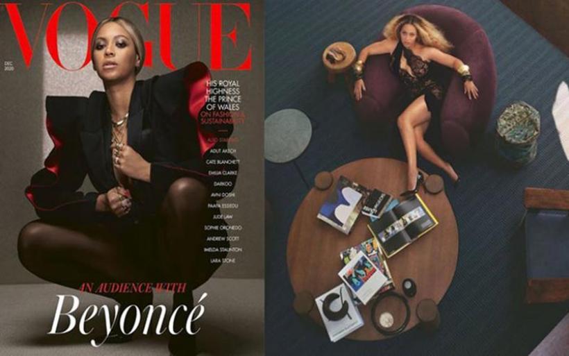 Η Beyonce ποζάρει για τη British Vogue στον φακό της 21χρονης Kennedi Carter