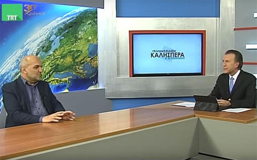 Ο Δήμαρχος Αλμυρού Βαγγέλης Χατζηκυριάκος στην TRT (βίντεο)