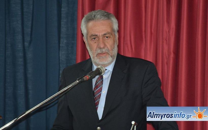 Ο Δ. Εσερίδης για τον θάνατο του Χαράλαμπου Τσιμά
