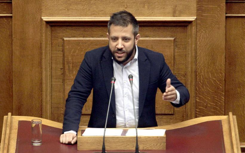Παρέμβαση Μεϊκόπουλου στη Βουλή για τη μείωση των τελών κυκλοφορίας για το 2021