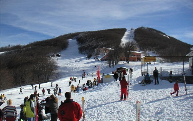 Ανοίγει από την Παρασκευή το Χιονοδρομικό Πηλίου για τους Πανελλήνιους Αγώνες