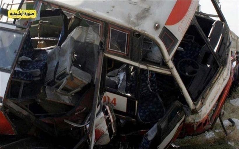 Αίγυπτος : Σύγκρουση φορτηγού με λεωφορείο – 20 νεκροί και 3 τραυματίες