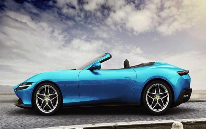 Ferrari Roma σε cabriolet και shooting brake εκδόσεις