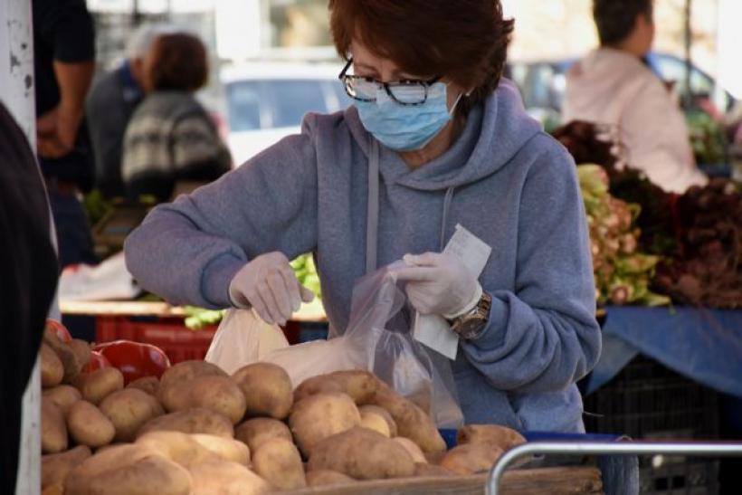 Πλήρης εφαρμογή των μέτρων στην λαϊκή αγορά του Δήμου Αλμυρού