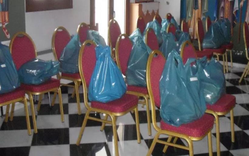 Μαγνησία: Διανομή 2.000 δεμάτων με τρόφιμα από την Μητρόπολη