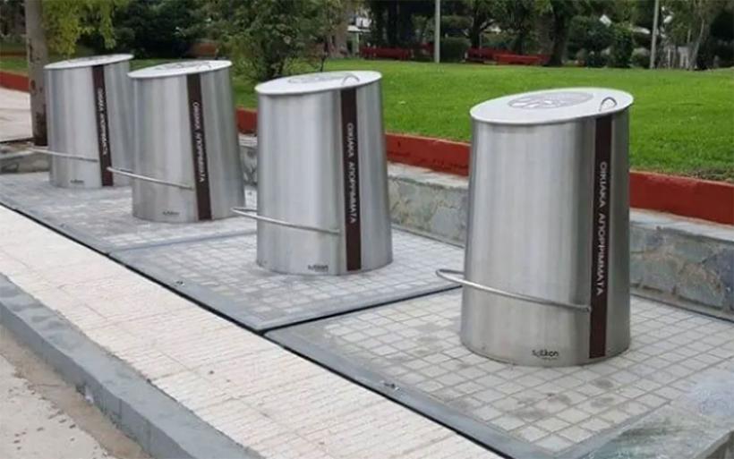 Ανάδοχος για το σύστημα υπόγειων κάδων στον Δήμο Αλμυρού