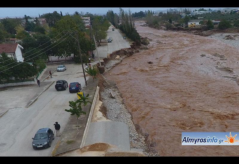 Κακοκαιρία Ιανός: Ενίσχυση 2 εκατ. ευρώ στο Δήμο Αλμυρού